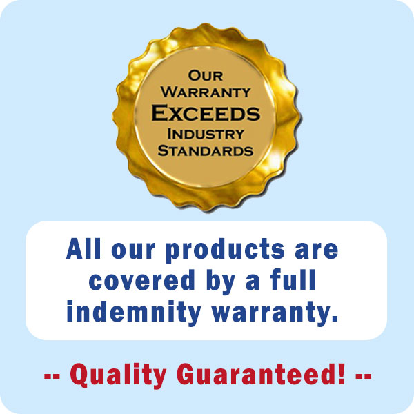 indemnity warranty badge