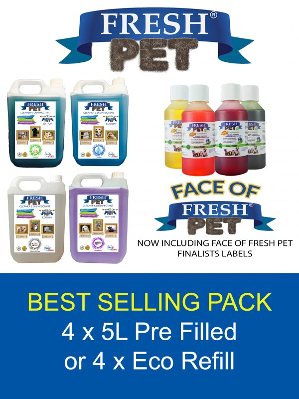 Fresh Pet Eco Refill and Pre Filled Options