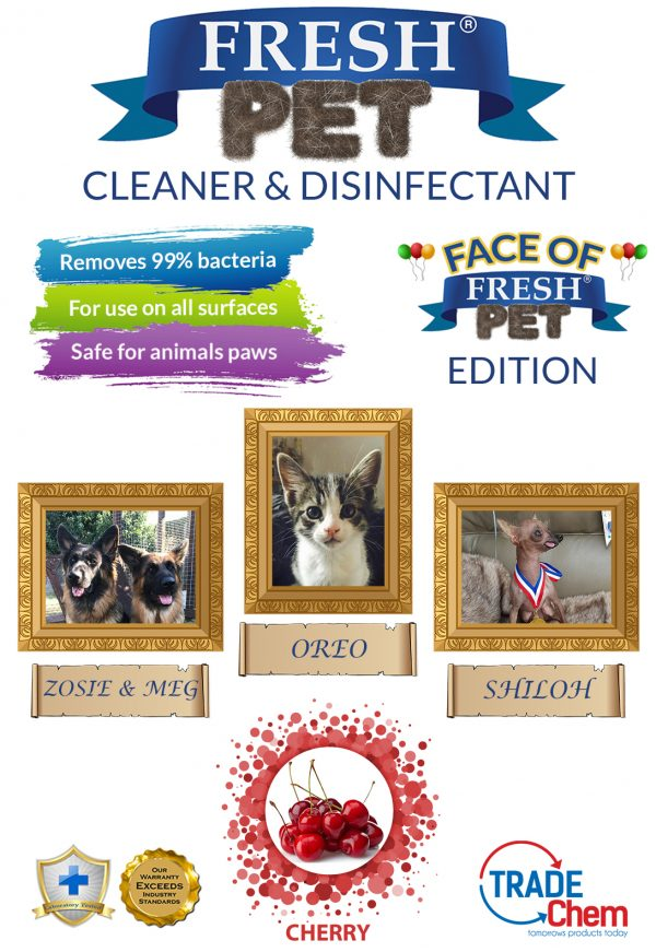 Fresh Pet Cherry 5L with Face of Fresh Pet Images