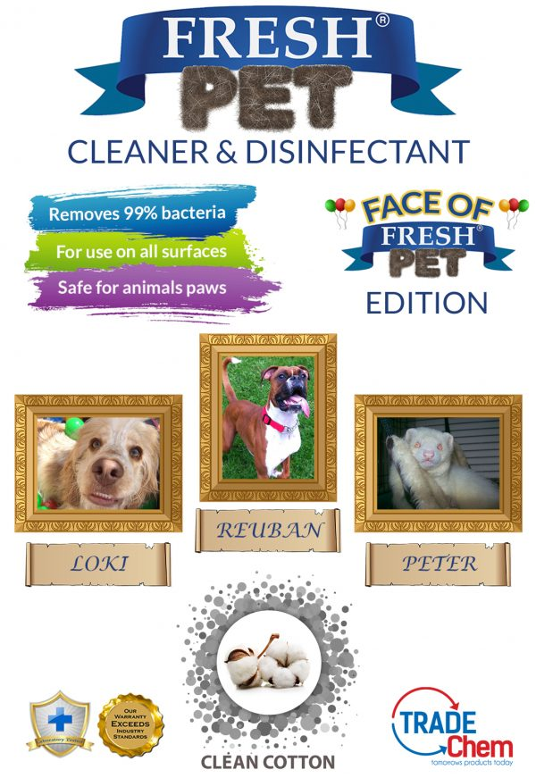 Fresh Pet Clean Cotton 5L with Face of Fresh Pet Images