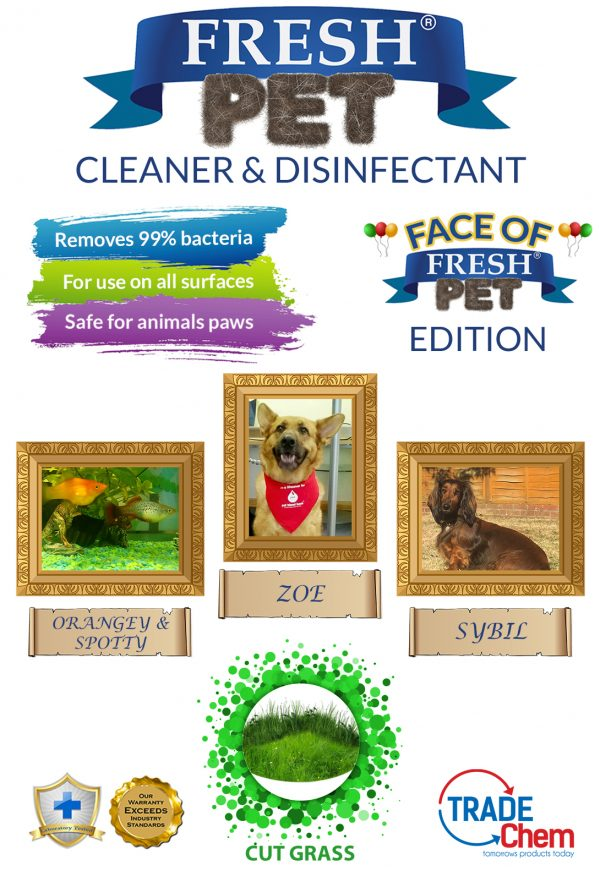 Fresh Pet Cut Grass 5L with Face of Fresh Pet Images