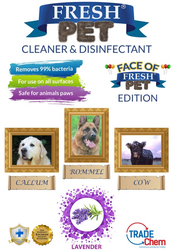 Fresh Pet Lavender 5L with Face of Fresh Pet Images