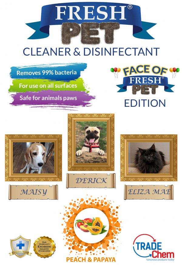 Fresh Pet Peach and Papaya 5L with Face of Fresh Pet Images