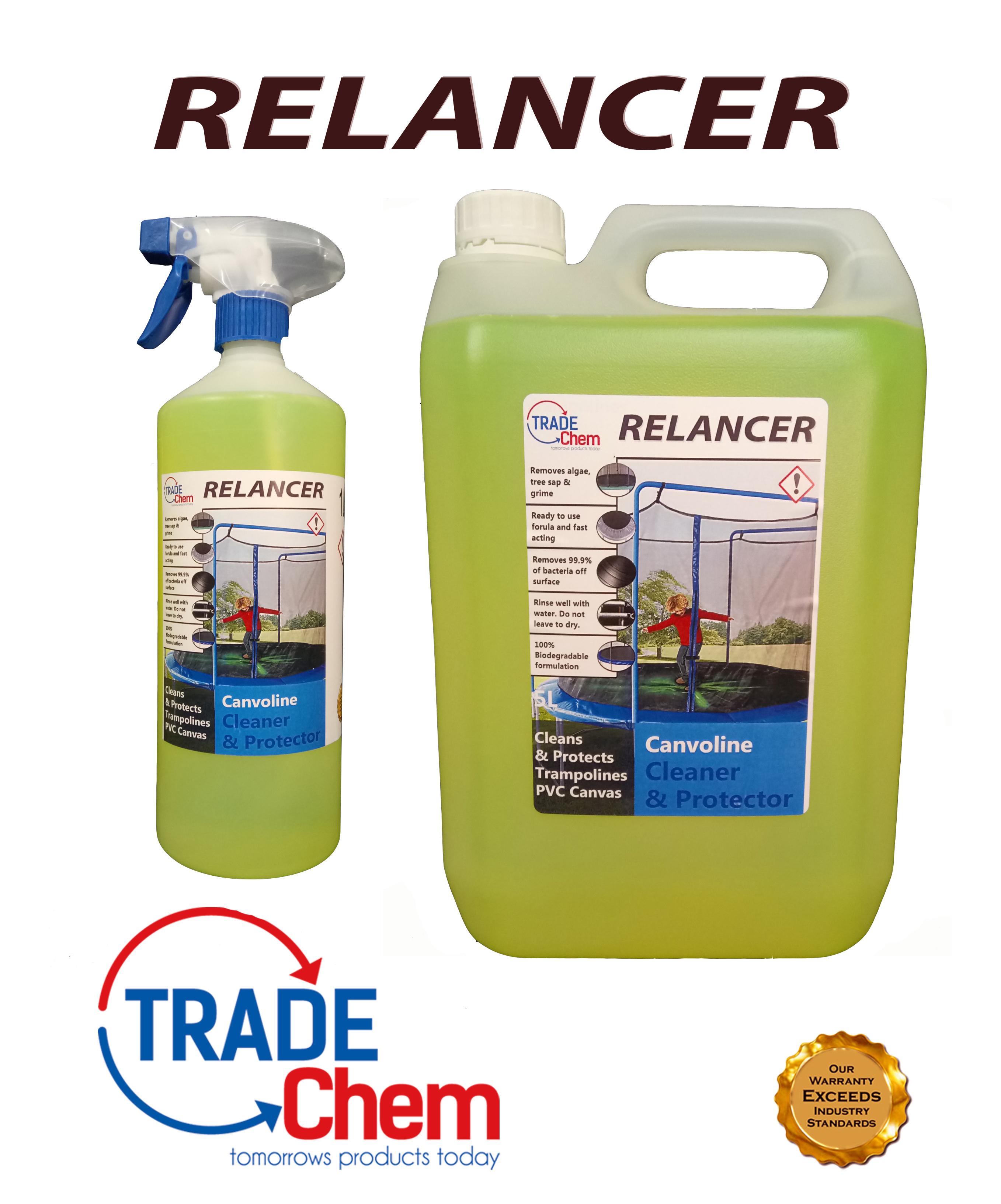 Relancer Canvoline Trampoline Cleaner