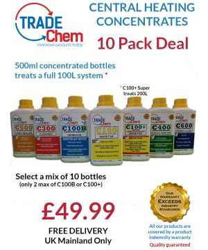 Central Heating Chemicals mix and match