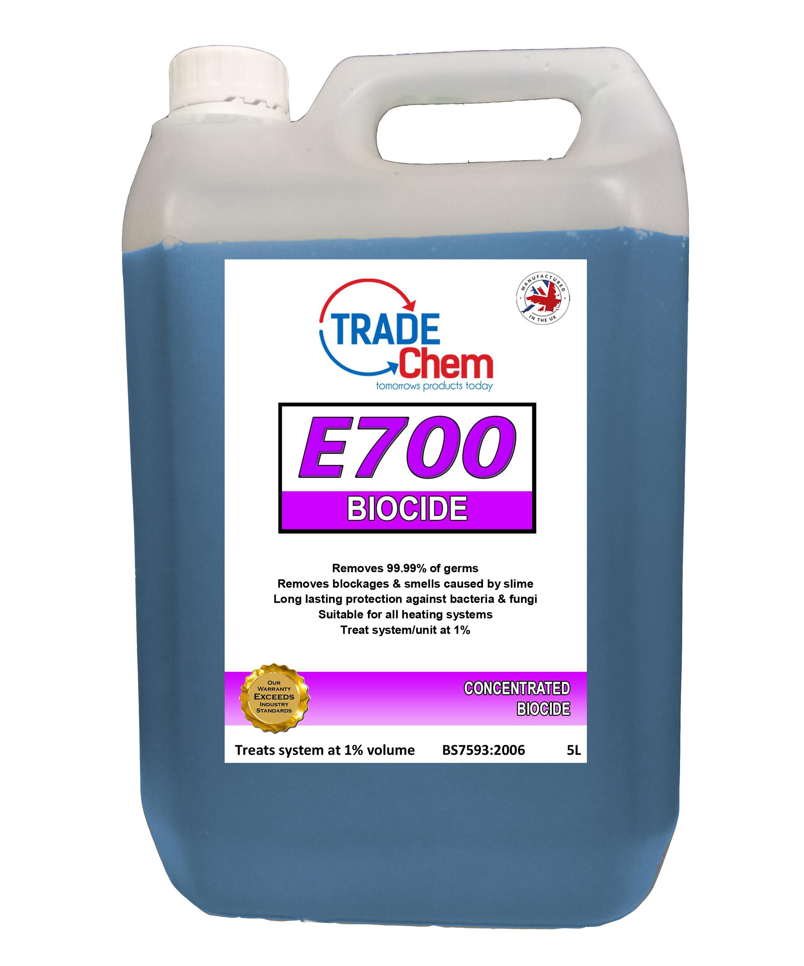 E700 Concentrated Biocide 5L – Trade Chem