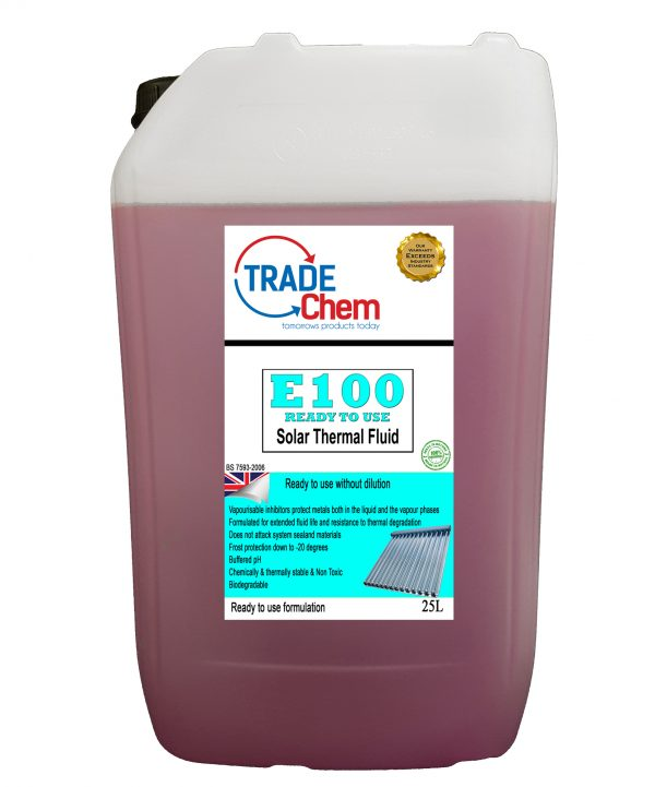 Transferable Container House: E100 Solar Thermal Heat Transfer Fluid 25L