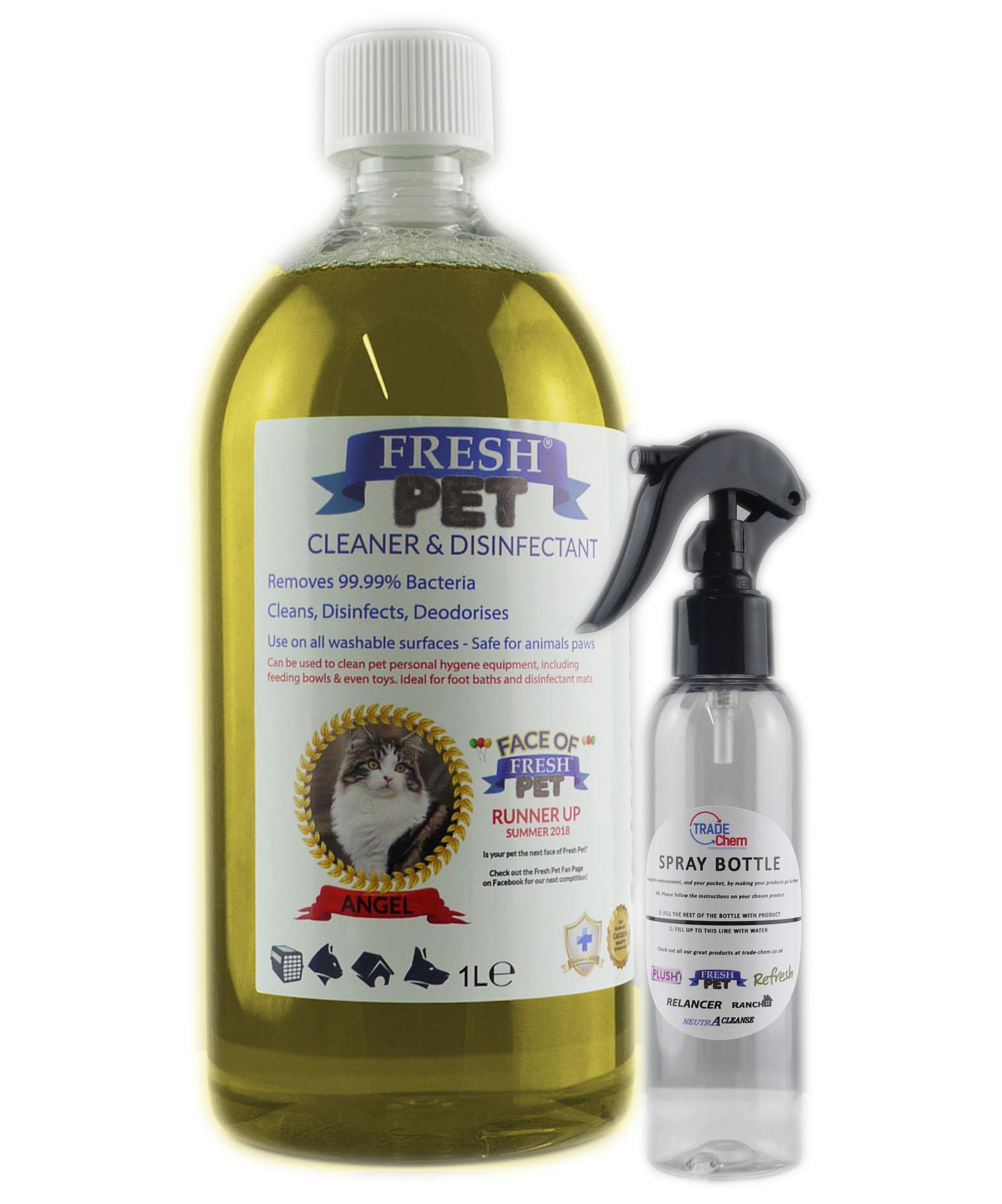 Fresh Pet Disinfectant 1L Spray