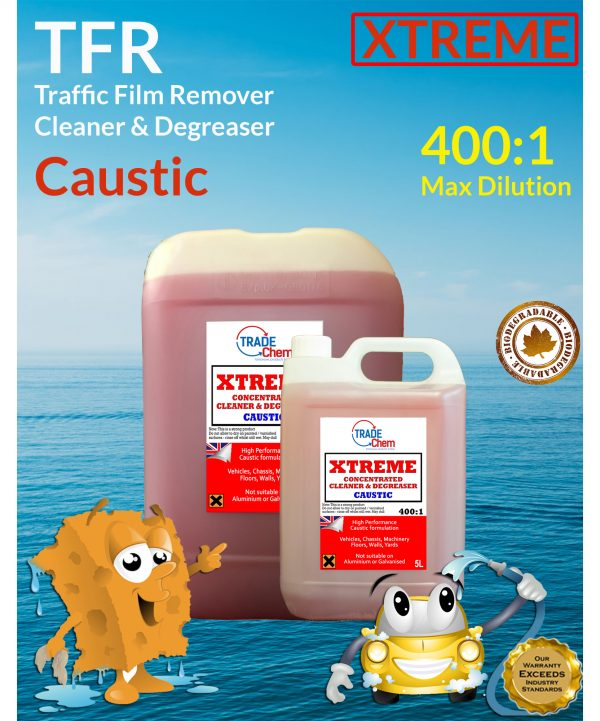 Ultra Caustic Traffic Film Remover