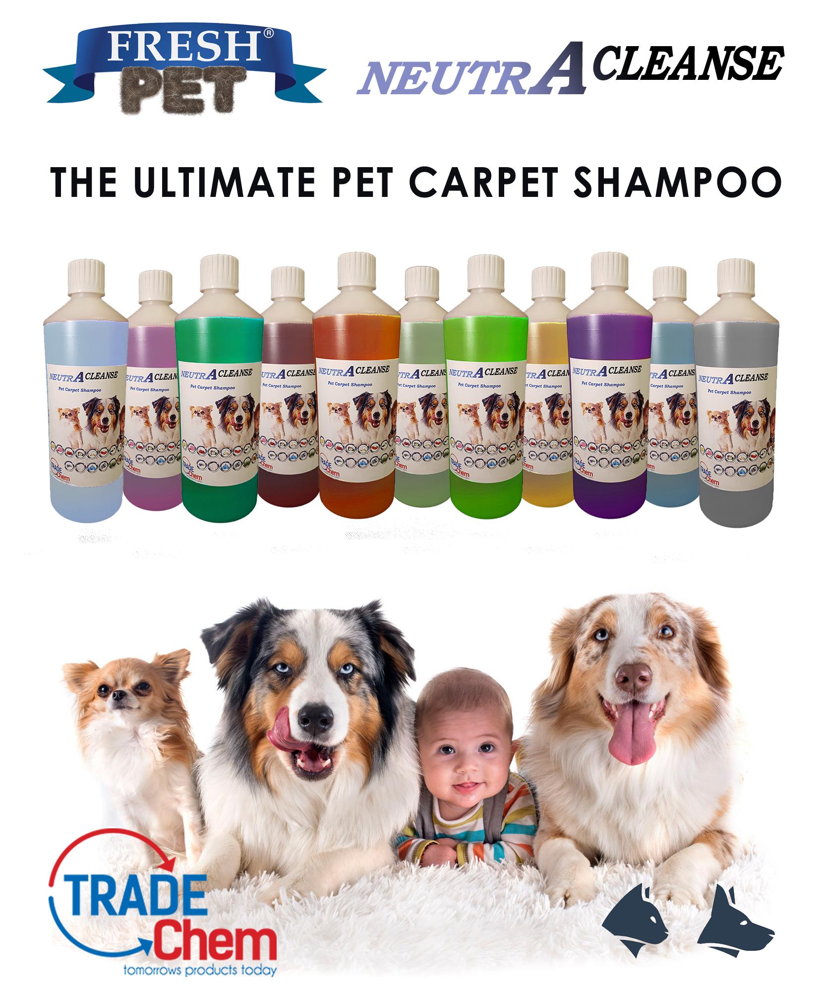 Neutralise CARPET SHAMPOO 5L range for website