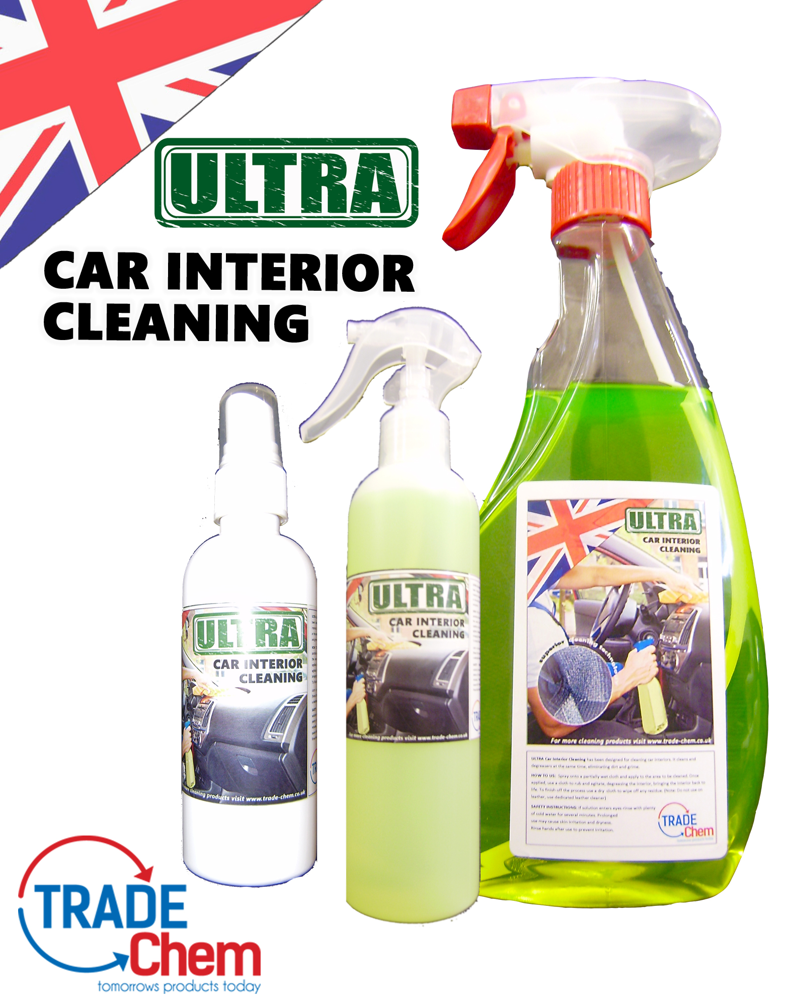 ULTRA Car Interior Cleaner and Degreaser