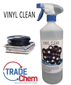 Vinyl Clean - 1L Record Cleaner - Anti Static