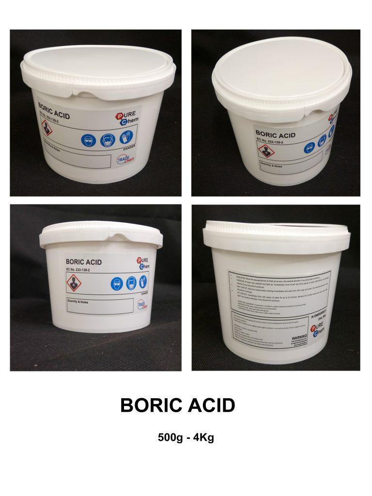 Boric Acid 500g - 4Kg