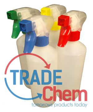 Translucent 500ml Bottles with standard sprayer - Pack of 5
