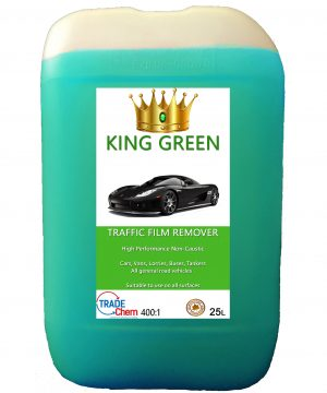 King Green Non Caustic Traffic Film Remover 25L