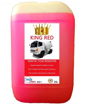 King Red Caustic Traffic Film Remover 25L