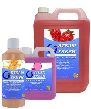 1 x 500ml, 1L and 5L Steam Fresh