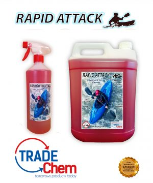 Rapid Attack Kayak and Canoe Cleaner