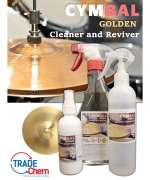 Cymbal Cleaner and Reviver Range
