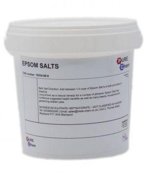 Epsom Salt Tub
