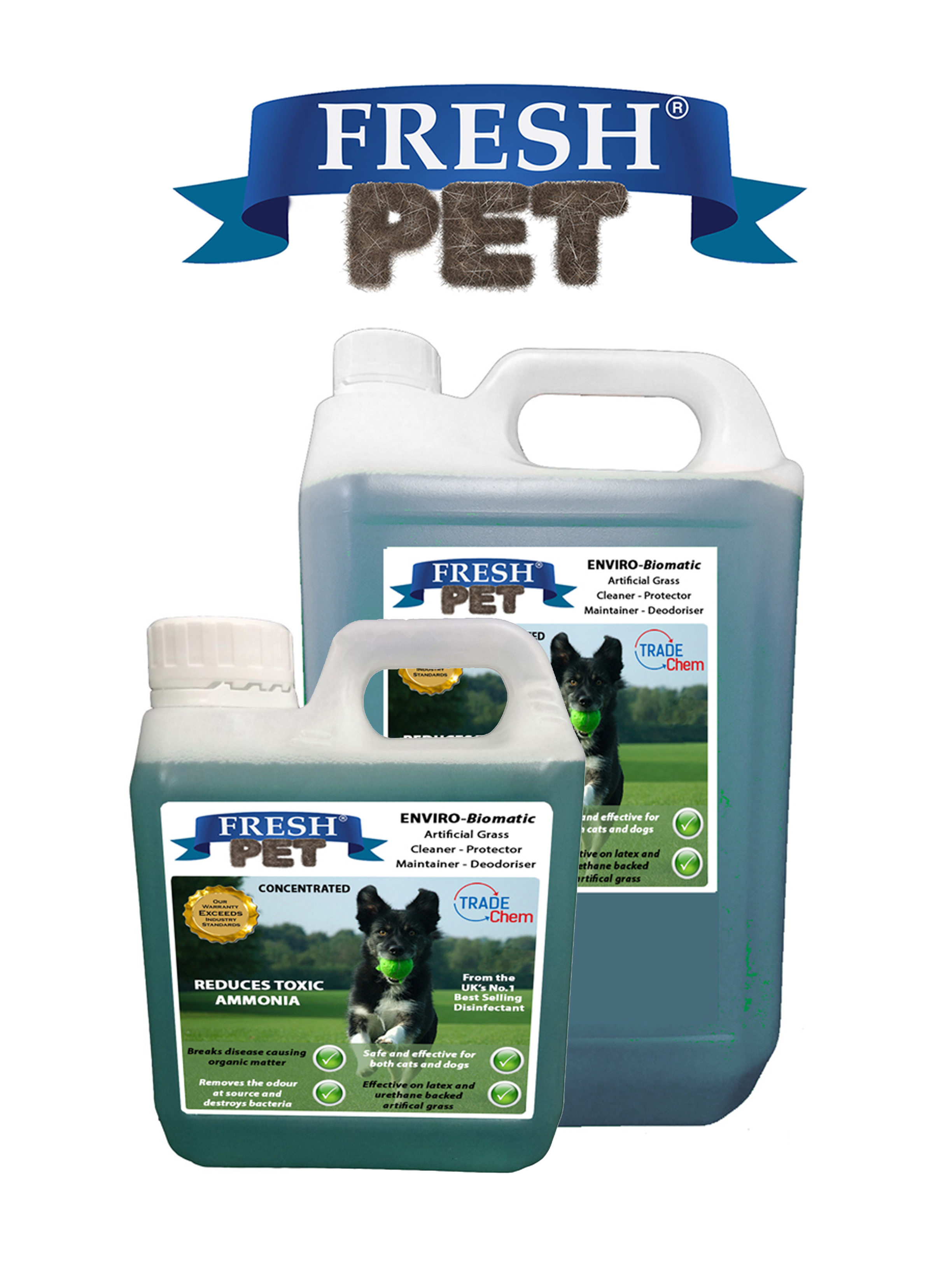 Fresh Pet Artificial Grass Cleaner Enviro Biomatic 1l Jerry