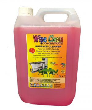 Wipe lean Surface Cleaner
