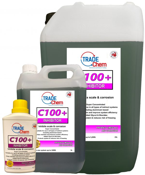 C100+ Super Concentrated Central Heating Inhibitor