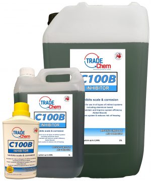 C100B Central Heating Inhibitor with Biocide