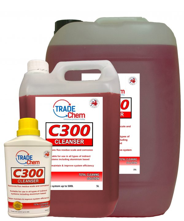 C300 Central Heating Cleanser