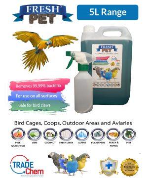 Fresh Pet Bird Cage Disinfectant