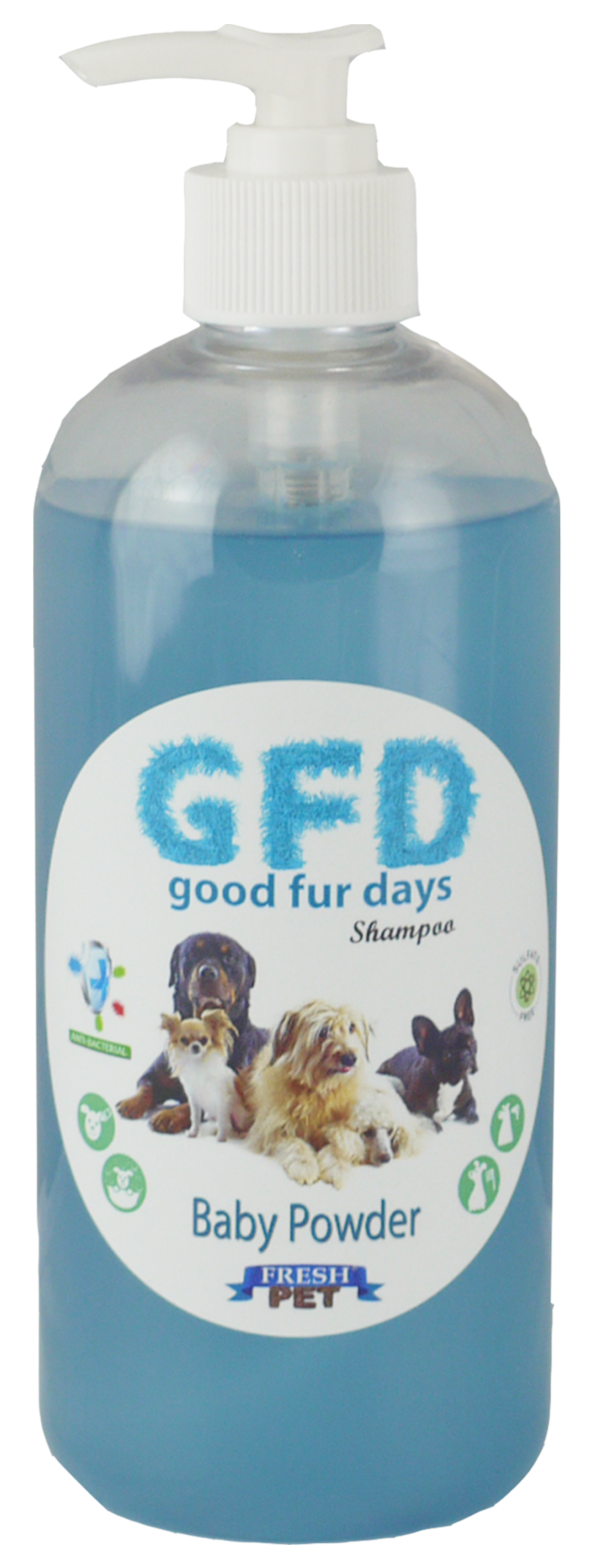 Good Fur Days Baby Powder Dog Shampoo 500ml