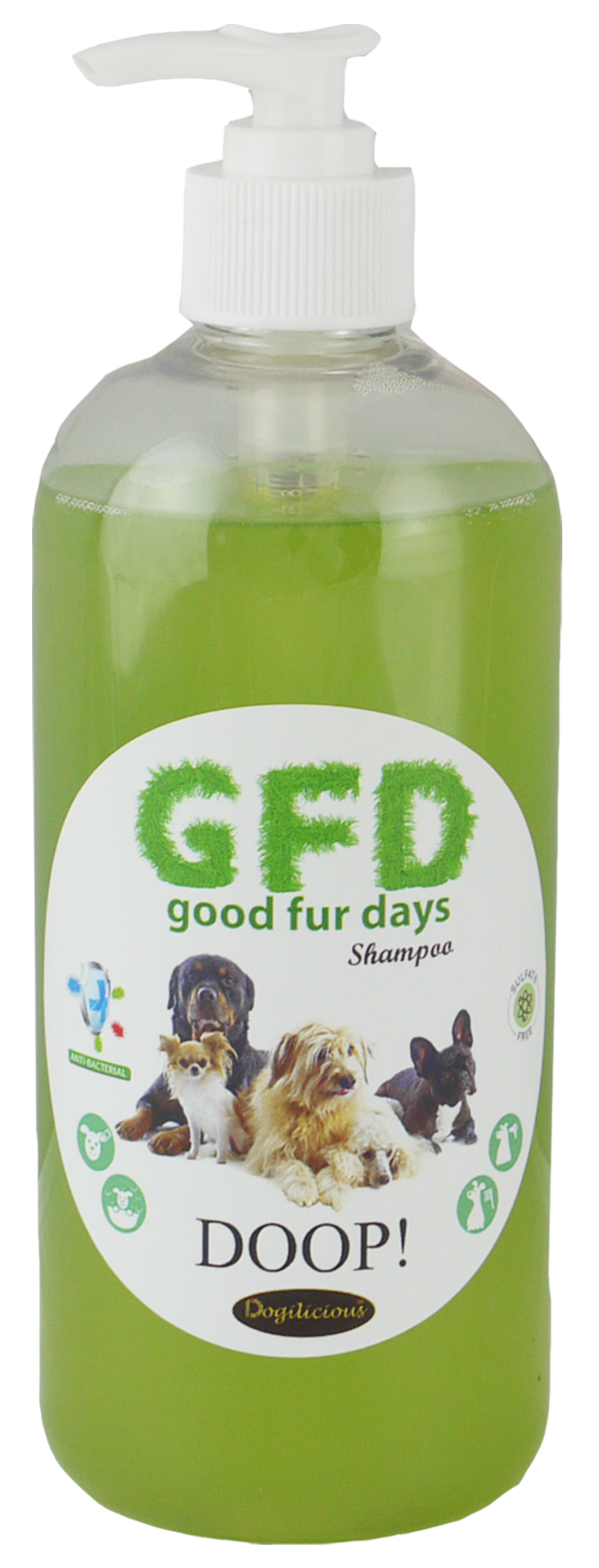 Good Fur Days Doop Dog Shampoo 500ml