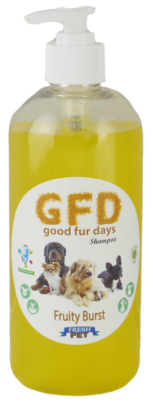 Good Fur Days Fruity Burst Dog Shampoo 500ml
