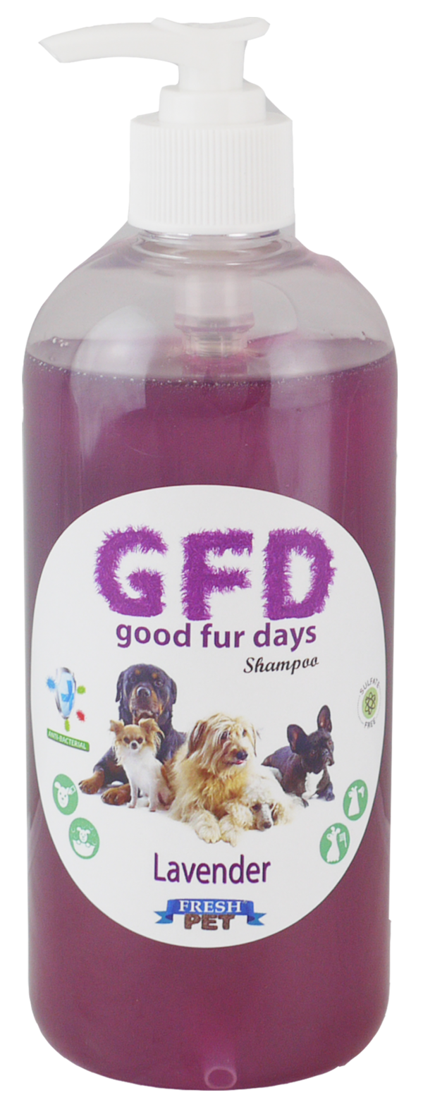 Good Fur Days Lavender Dog Shampoo 500ml