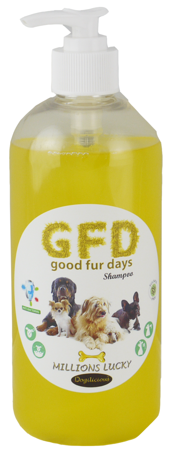 Good Fur Days Millions Lucky Dog Shampoo 500ml