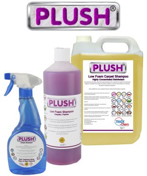 Plush Low Foam Carpet Shampoo