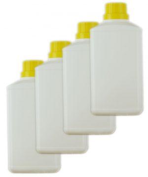 4 White 500ml Brecon Bottles