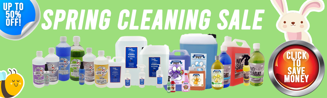Spring Cleaning Sale Banner