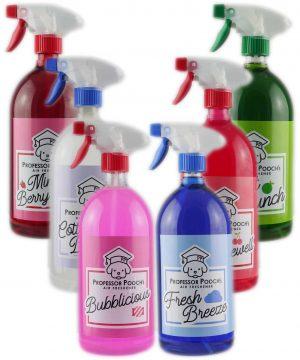 6 Bottles of Professor Pooch's Air Fresheners