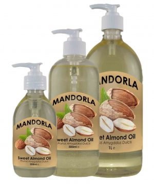 1 x 250ml, 500ml and 1L Almond Oil