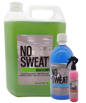 1 of each No Sweat Dojo Cleaner