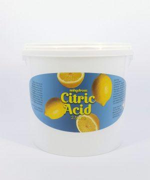 Citric Acid 2.5kg tubs